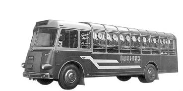 Un autobus per le consegne